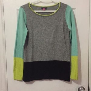 Vince Camuto color block long sleeve